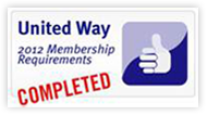 2012 United Way Membership Requirements Completed