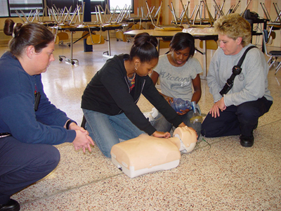 CPR Training in Franklin